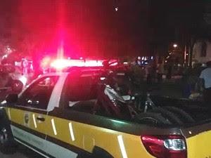 Mais de 20 bicicletas foram apreendidas na praça Santa Terezinha em Taubaté (Foto: Carlos Franco/Vanguarda Repórter)