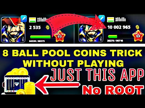 8 Ball Pool Free Coins Trick -2018