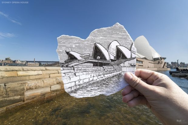 Sydney's Most Famous Buildings Get an Illustrated Tribute