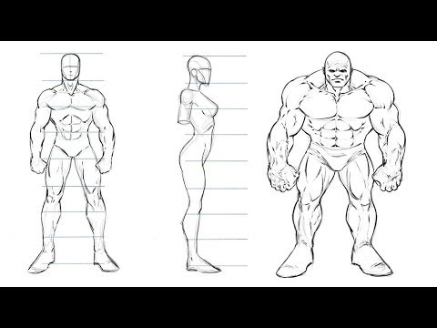 How To Draw Comic Book Characters For Beginners