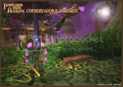 Postcards of Azeroth: Conservator Ilthalaine, by Rioriel Ail'thera