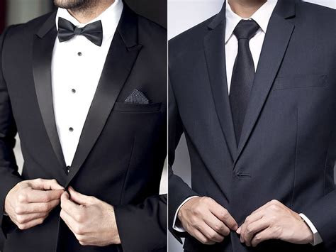 tuxedo  suit    difference