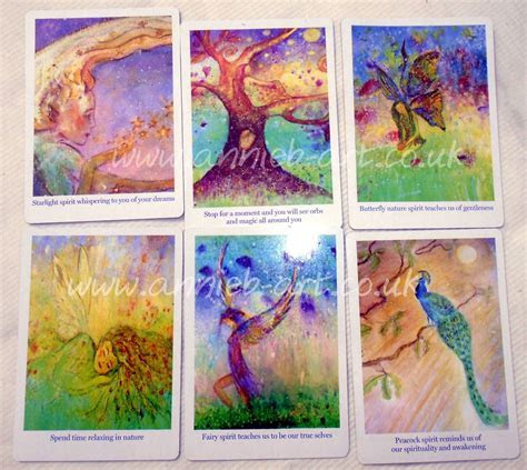 Oracle Cards Illustrated by Spiritual Artist Annie b.