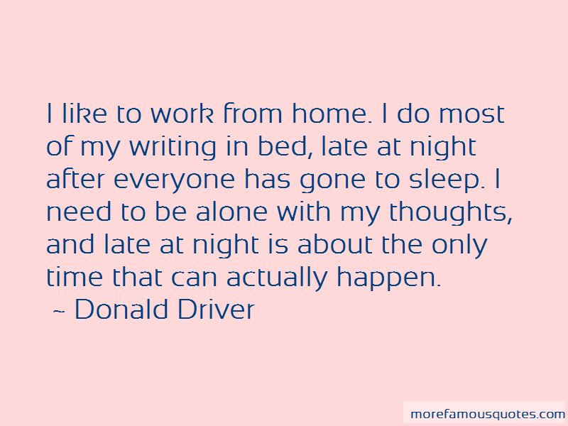 Quotes About Late Night Thoughts Top 6 Late Night Thoughts Quotes