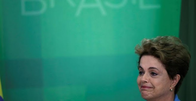 La presidenta brasileña Dilma Rousseff . EFE/Fernando Bizerra Jr.