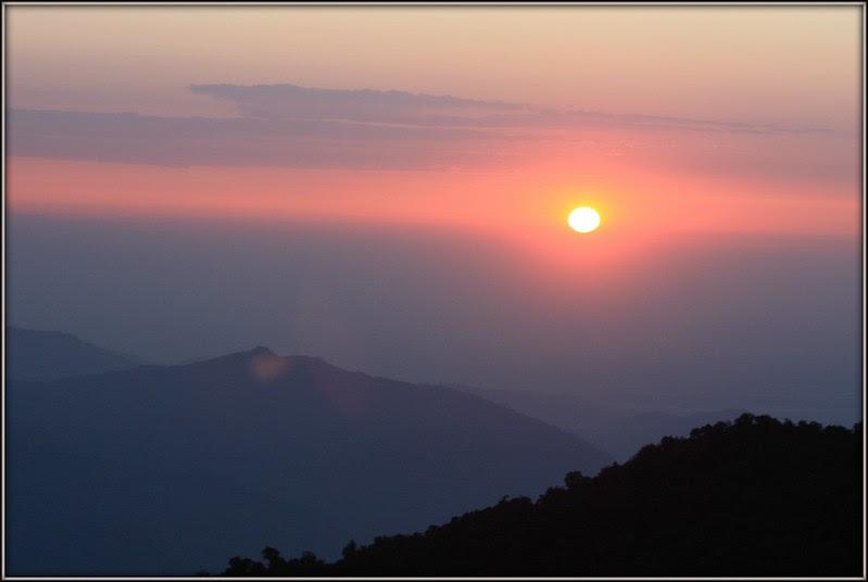 sunrise at tiget hill