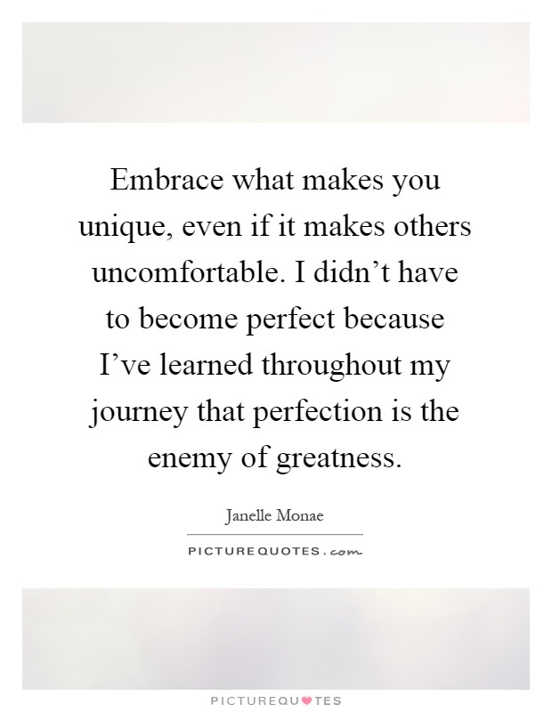 Embrace What Makes You Unique Even If It Makes Others Picture