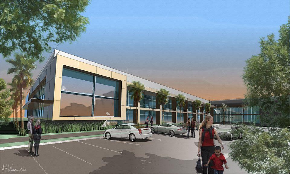 Heilman Architecture Scan Design Modern Retail Center