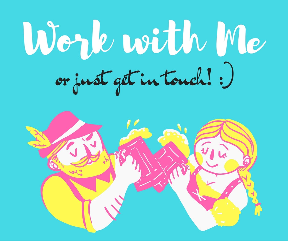 Work with Me - or just get in touch! :)