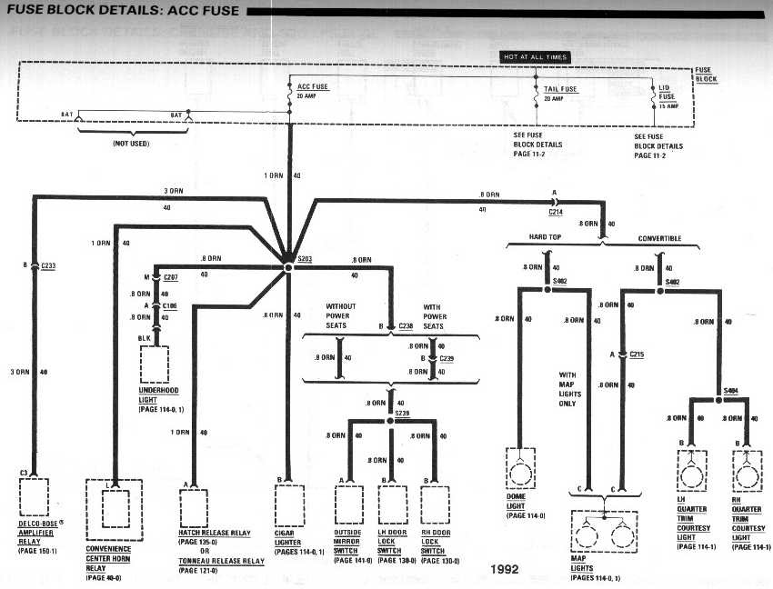 92 Camaro Wiring Diagram