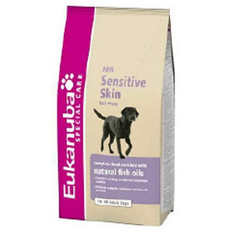 eukanuba special care sensitive skin dog food kg