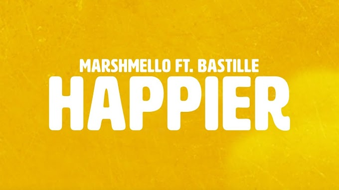 Marshmello ft. Bastille - Happier (Official Lyric Video) - Marshmello ft. Bastille Lyrics