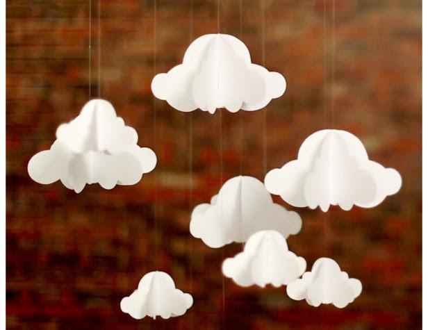36. Декоративные облака дети, поделки, своими руками, сделай сам, творчество
