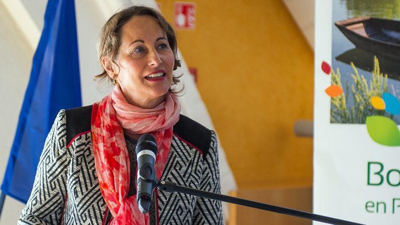 Ségolène Royal lors de ses vœux au conseil régional de Poitou-Charentes, en 2013.