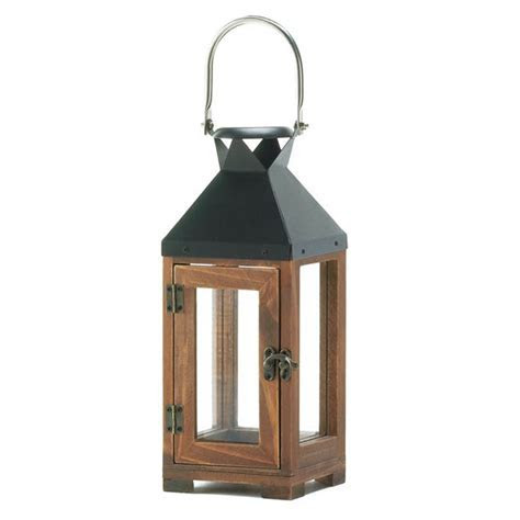Wooden Lantern Candle Warmer, Small Cheap Candle Lanterns