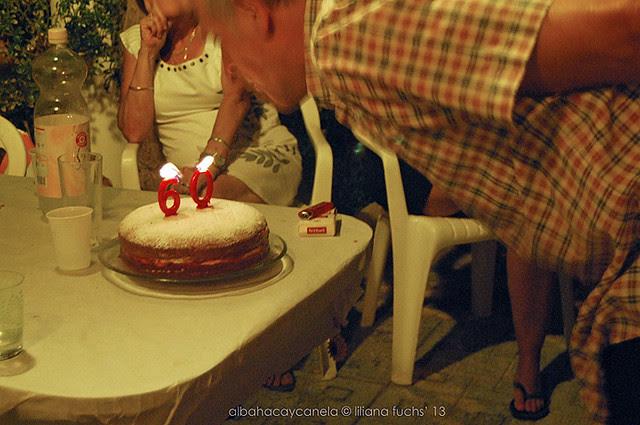 Celebrating my dad's  birthday