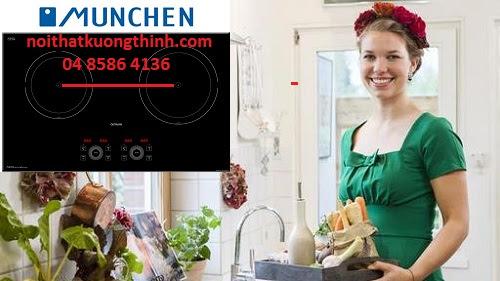 Vào bếp trải nghiệm khả năng đun nấu của bếp từ Đức
