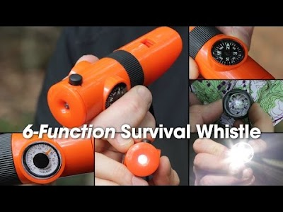 RV & Camping Gear videos: Camco Survival Whistle, Thetford AquaFoam Foaming RV Toilet Cleaner, and Rambler Colster Bottles & Hopper from YETI