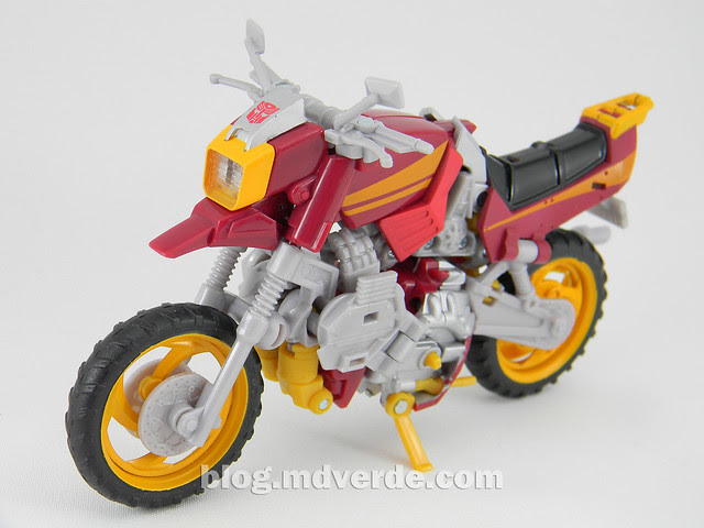 Transformers Junkheap Deluxe - Generations - modo alterno