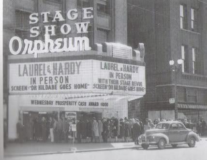 Stan Laurel Oliver Hardy Orpheum