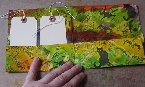 Halloween Altered File Folder 007