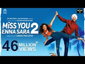 Buggu Oye Lyrics - Miss You Enna Sara 2 | Navjeet