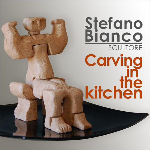 Carving in the kitchen