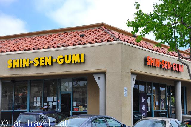 Shin-Sen-Gumi Hakata Ramen- Fountain Valley, CA: Exterior