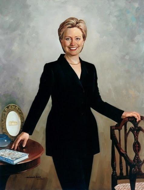 Hillary Clinton (Simmie Knox)