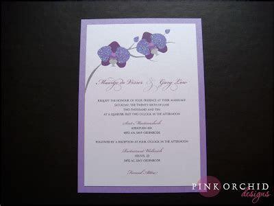 Pink Orchid Weddings: Phalaenopsis Orchid Wedding Invitations