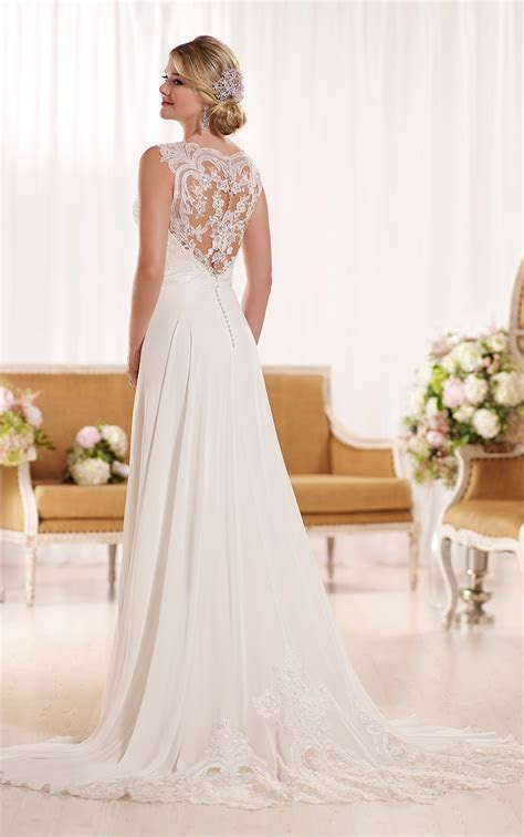 Designer Beach Wedding Dress   Wedding Dresses   Essense