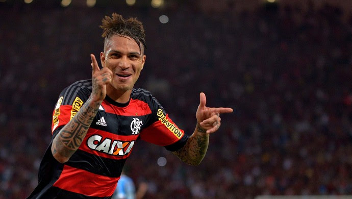 Gol Guerrero Flamengo x Grêmio Maracanã (Foto: Marcello Dias/Futura Press)