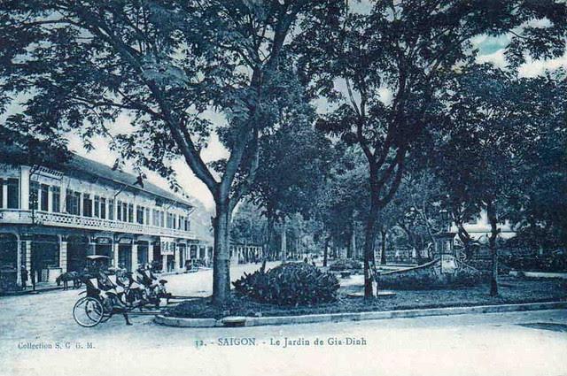 Saigon. Le Jardin de Gia-Dinh