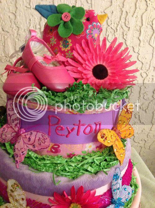 Peyton's Diaper Cake