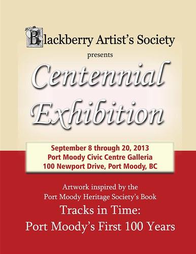 Centennial Exhibit Poster September 8 through 20 2013