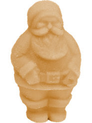 Maple Santas (Pkg of Five)