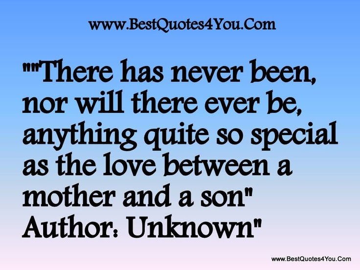Between Mothers And Sons Quotes. QuotesGram