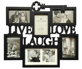Live Laugh Love Key Picture Frame 6 Opening Collage Big Lots