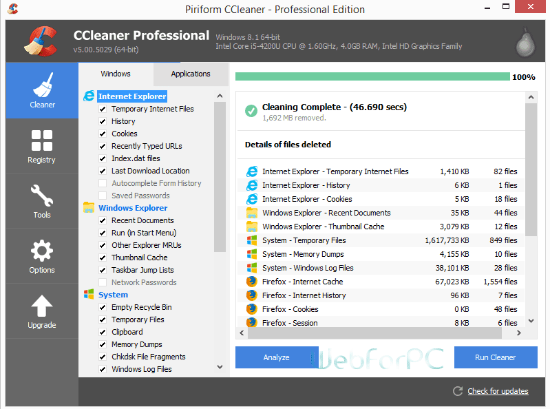 Ccleaner pro name and license key - Lumia ccleaner pro ...