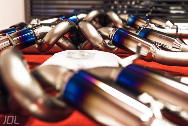 Tommy Kaira Nissan GTR Exhaust