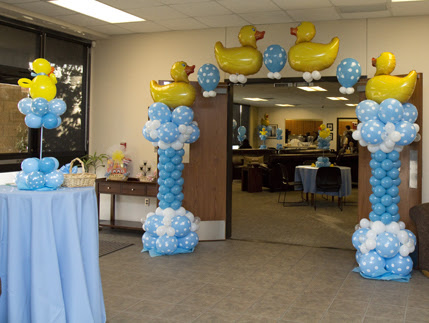 Balloon Decoration Ideas For A Baby Shower Baby Shower