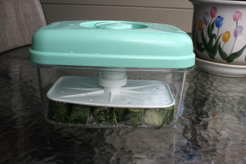 Starting the salt pickles or shio-suke