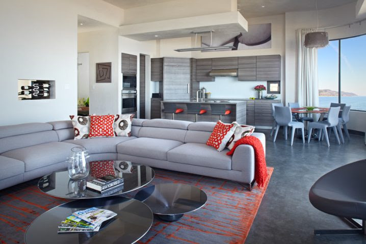 How To Decorate Your Home With Orange And Grey This Fall