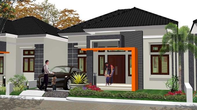 Rumah Minimalis 6x10 Tampak Depan | Ide Rumah Minimalis