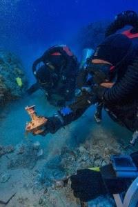 Περισσότερα από 50 αντικείμενα βρέθηκαν στο χώρο του διάσημου Ναυάγιο των Αντικυθήρων
