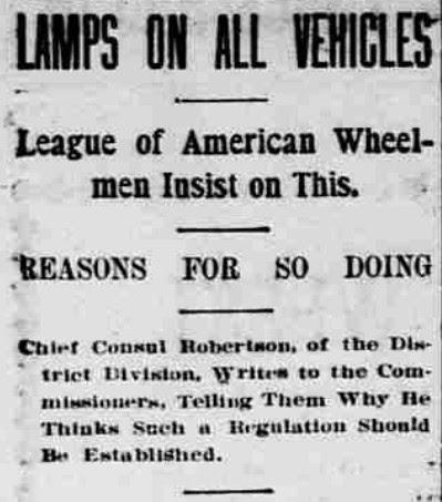 Lamps Headline (1896)