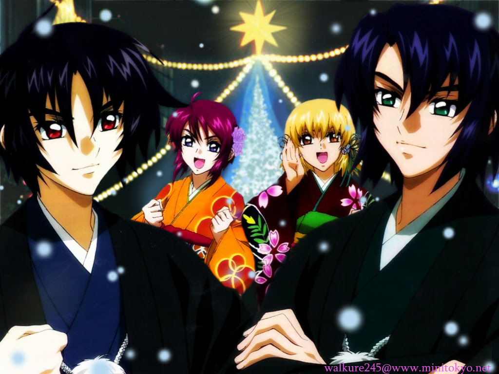 Mobile Suit Gundam Seed Destiny Wallpaper A Destiny Christmas