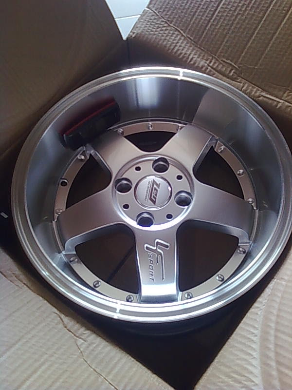 VELG CELONG BELANG RING 15 PCD 100 X 4(NEW 100%).SIAP ANTAR