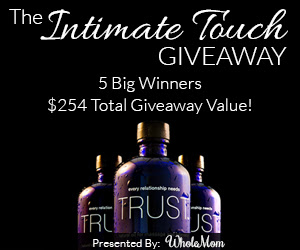 Enter to win The Intimate Touch Giveaway. Ends 9/24/14.