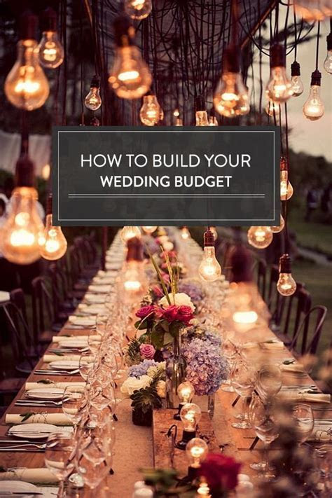 Trending   How To Build Your Wedding Budget